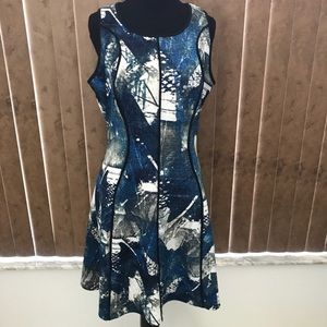 NWOT - Mossimo Multi-Color Sleeveless Dress